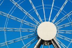 Абстрактная круглая конструкция металла Стоковое Изображение RF