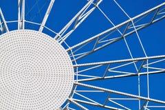Абстрактная круглая конструкция металла Стоковые Фотографии RF