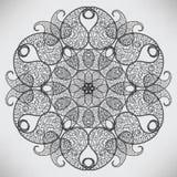 абстрактная круговая картина иллюстрация вектора