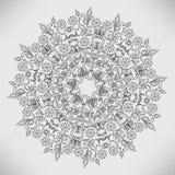 абстрактная круговая картина иллюстрация штока