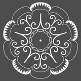абстрактная круговая картина Стоковые Изображения