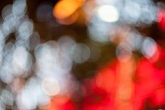 Абстрактная круговая предпосылка bokeh Christmaslight Стоковая Фотография RF