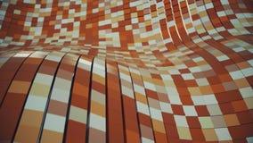 абстрактная кубическая сетка 4K иллюстрация штока
