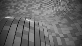 абстрактная кубическая сетка 4K бесплатная иллюстрация