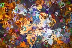 Абстрактная кубическая стена Стоковые Фото