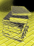 абстрактная куча книги Стоковые Изображения RF