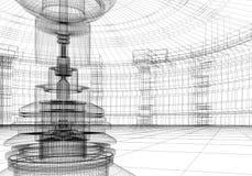 абстрактная лаборатория Стоковая Фотография RF