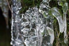 Абстрактная ледяная скульптура стоковые фотографии rf