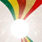 Абстрактная линия предпосылка радуги Стоковое Изображение RF