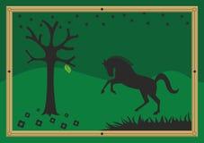 абстрактная лошадь Стоковое Изображение RF