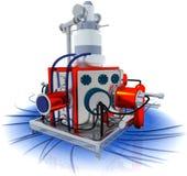Абстрактная машина Стоковое Изображение RF