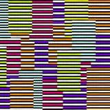 абстрактная многократная цепь состава цветов 3d представляет Стоковые Фотографии RF