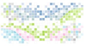 абстрактная мозаика предпосылки иллюстрация вектора