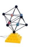 абстрактная молекула клетки Стоковые Изображения
