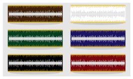 Абстрактная монтажная плата к холсту, рамки, декоративный элемент Стоковая Фотография