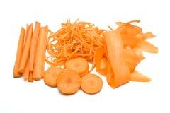 абстрактная морковь Стоковое Изображение RF