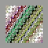 Абстрактная мощная картина предпосылки точки иллюстрация вектора