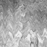 абстрактная мраморная текстура черная белизна Стоковое Фото