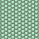Абстрактная мягкая зеленая предпосылка картины орнамента Стоковые Фотографии RF