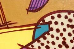 абстрактная надпись на стенах Стоковое Фото