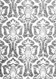Абстрактная нарисованная вручную флористическая безшовная картина 11 Стоковая Фотография RF