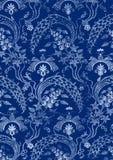 Абстрактная нарисованная вручную флористическая безшовная картина 18 Стоковая Фотография RF