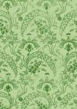 Абстрактная нарисованная вручную флористическая безшовная картина 19 Стоковая Фотография RF