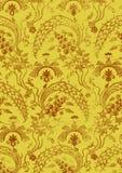 Абстрактная нарисованная вручную флористическая безшовная предпосылка года сбора винограда картины Стоковая Фотография RF