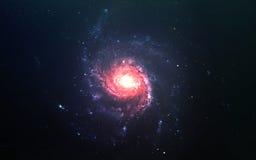 Абстрактная научная предпосылка - планеты в космосе, межзвёздном облаке и звездах Элементы этого изображения поставленные NASA NA Стоковое Изображение RF