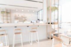 Абстрактная нерезкость в кафе Стоковое фото RF