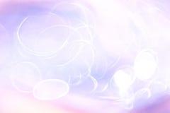 Абстрактная нерезкость фиолетового света Стоковое Изображение