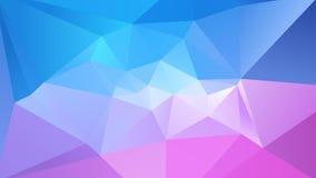Абстрактная низкая поли предпосылка Стоковая Фотография RF
