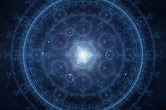 Абстрактная новая предпосылка духовности времени Стоковое Изображение