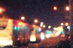 абстрактная ноча предпосылки Стоковое Фото