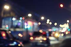 абстрактная ноча предпосылки Стоковые Изображения RF