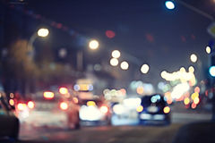абстрактная ноча предпосылки Стоковые Фотографии RF