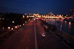 абстрактная ноча предпосылки Стоковая Фотография RF
