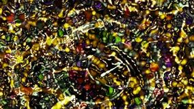 Абстрактная оживленная заставка компьютера цвета акции видеоматериалы