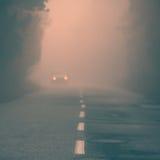 Абстрактная дорога fogy Стоковое Изображение