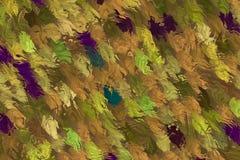 Абстрактная осень листает предпосылка Стоковое фото RF