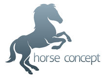 абстрактная лошадь Стоковые Изображения