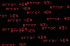 абстрактная ошибка предпосылки 404 Стоковое фото RF