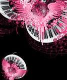 абстрактная партия конструкции Стоковая Фотография