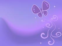 абстрактная пастель бабочки Стоковое Изображение RF