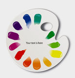абстрактная палитра конструкции цвета предпосылки иллюстрация штока