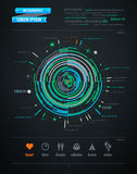 абстрактная перевозка infographics элемента Стоковое фото RF