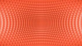 Абстрактная передернутая предпосылка коробки красная бесплатная иллюстрация
