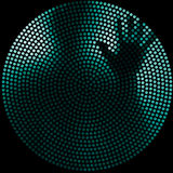абстрактная персона Стоковая Фотография RF