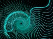 Абстрактная пестротканая картина фрактали Стоковое Изображение