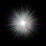 Абстрактная пестротканая предпосылка дизайна взрыва Стоковое Фото